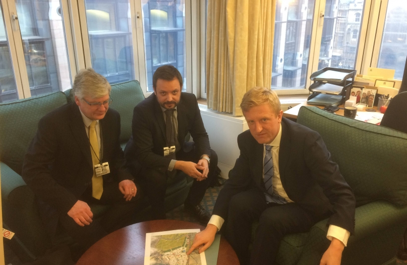 Oliver Dowden MP meeting with the Hertfordshire LEP