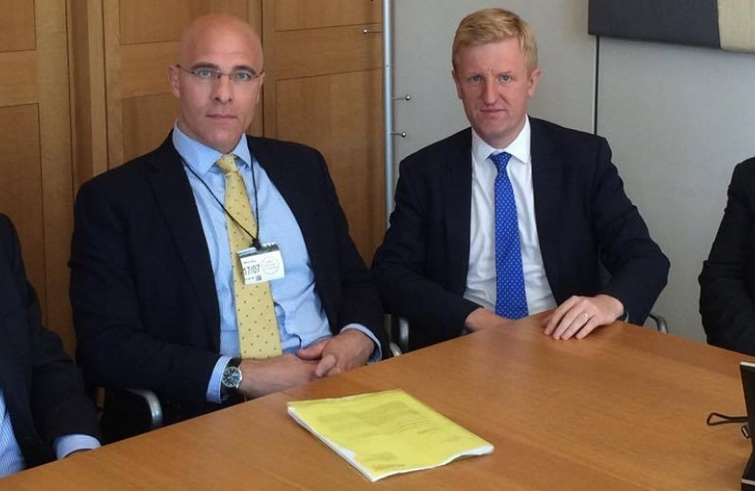 Oliver Dowden MP meeting with Network Rail - 17.07.17