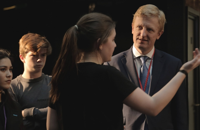 Oliver Dowden MP at Elstree UTC - 13.01.17