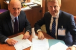 Oliver Dowden CBE MP meeting with Cllr David Williams